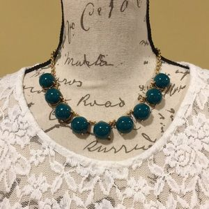 Express Bubble Stone Necklace NWT & Dust Bag!